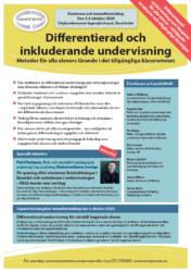 Broschyr och program till konferensen Differentierad och inkluderande undervisning hos Kompetento