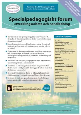 Specialpedagogiskt forum